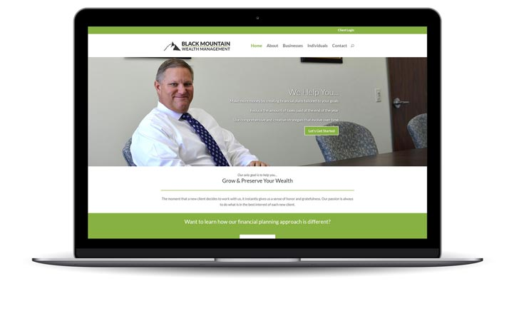 Black Mountain Wealth Management Website